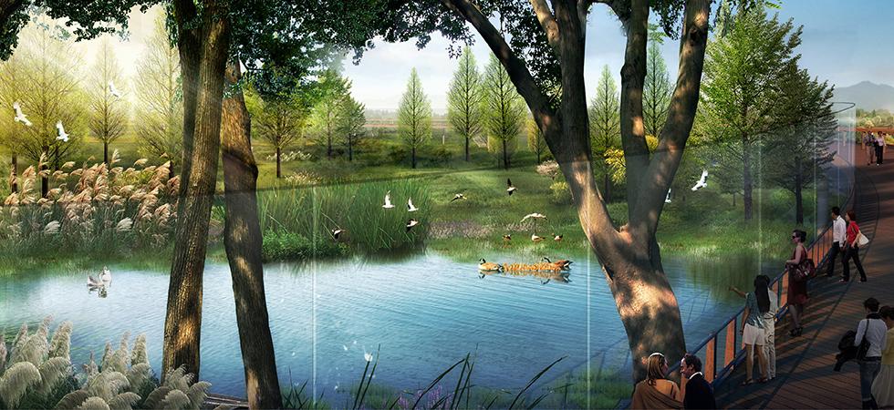 唐山市东湖风景区修建性详细规划设计